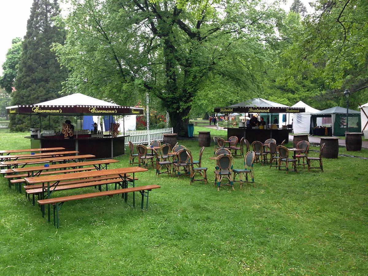Gartenfest mit Eisermann's